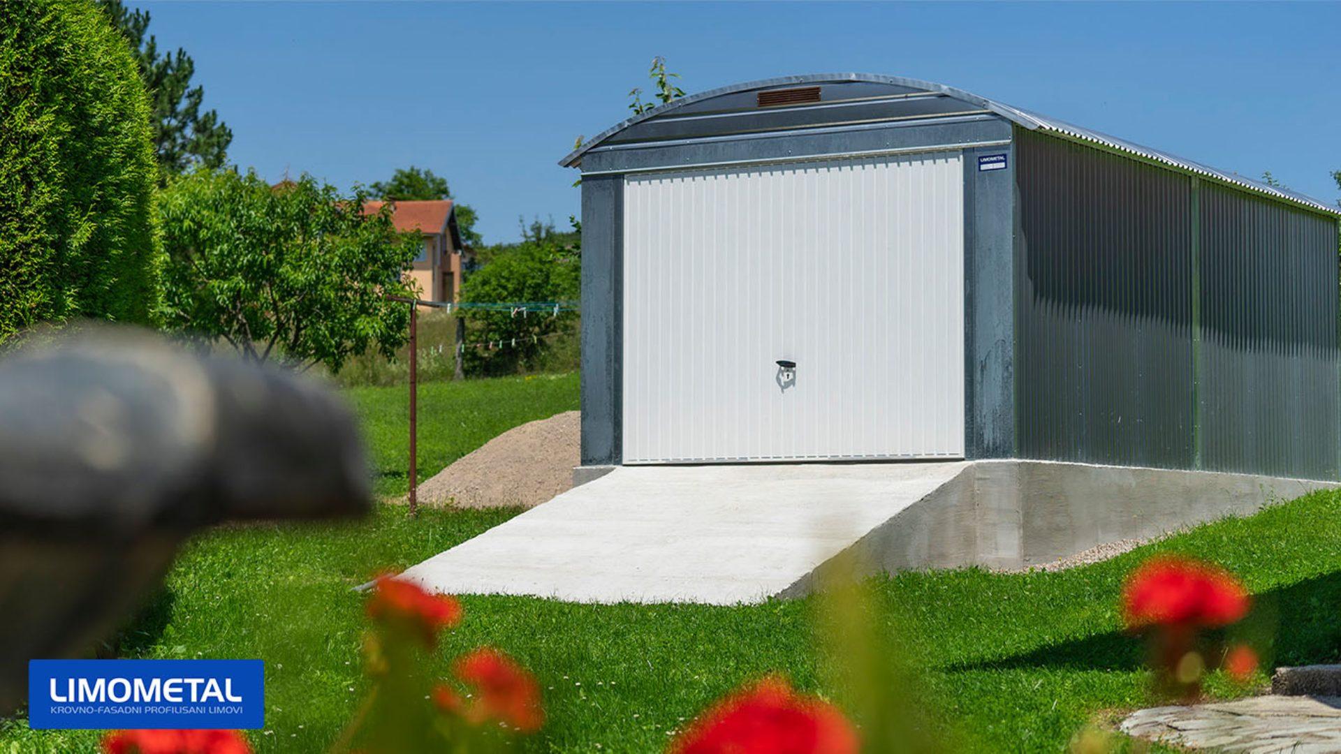 auto garaza za auto limena