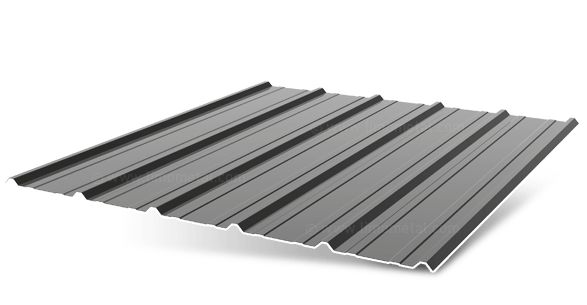 3D model - Atlantic trapezoidal sheets