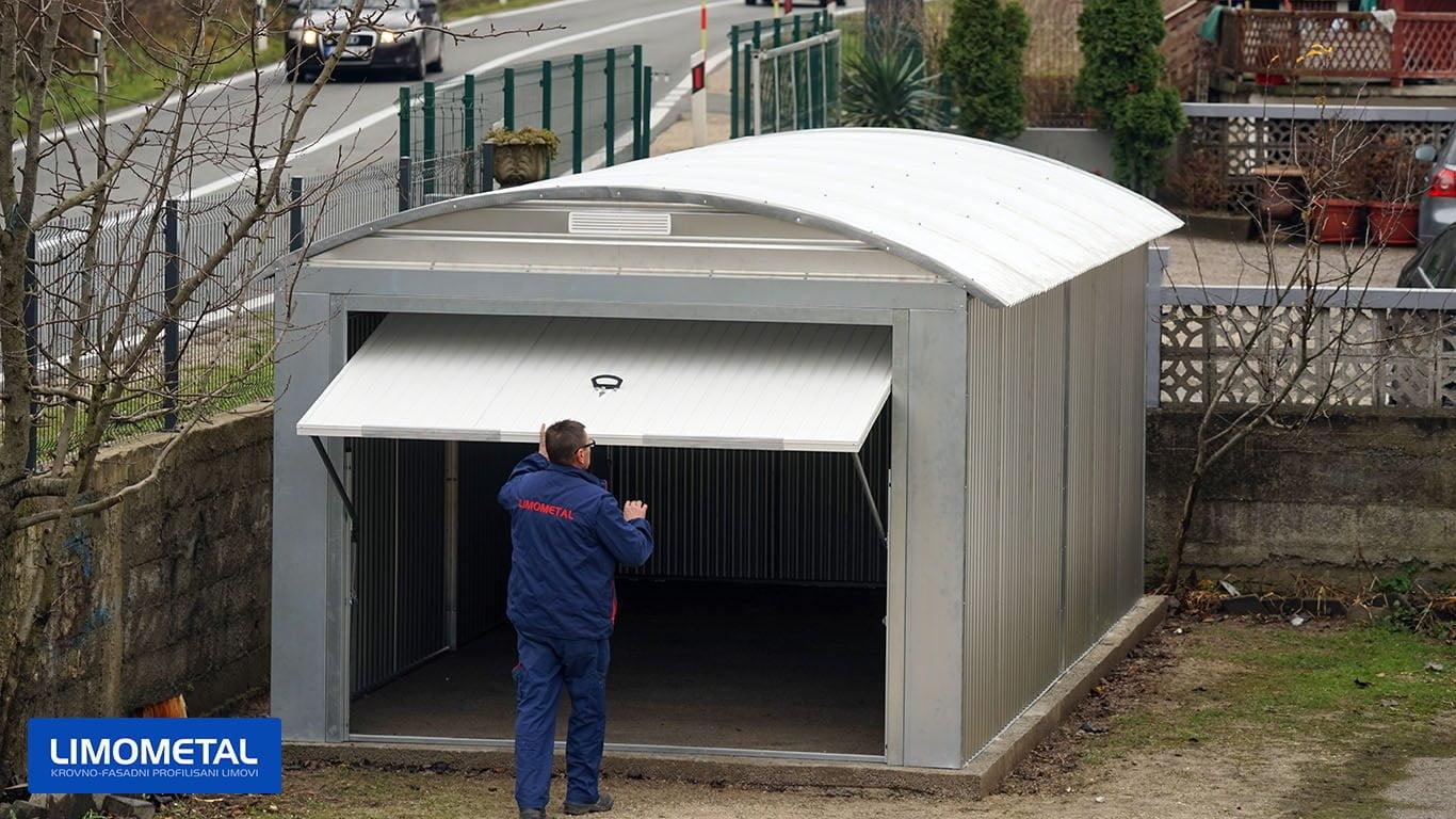 garaza za auto od lima