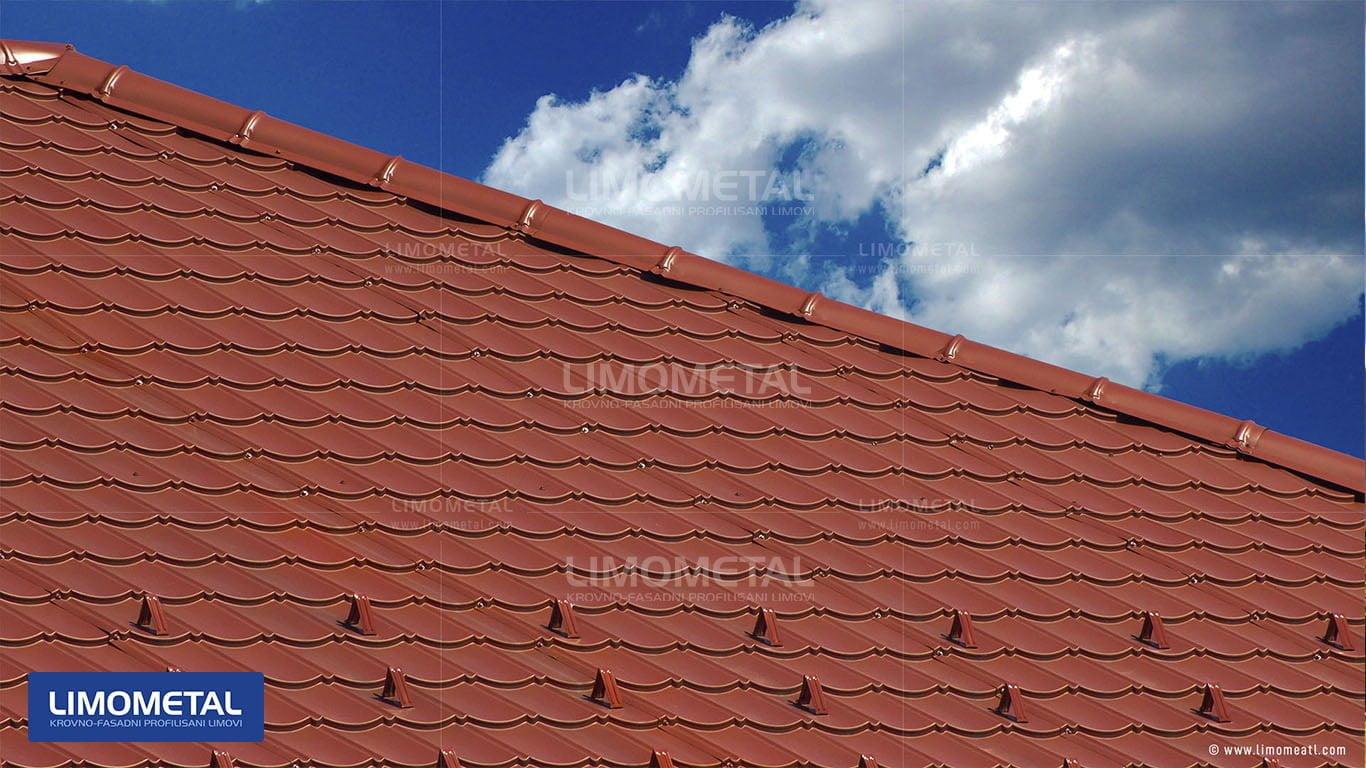 segment lim na krovu