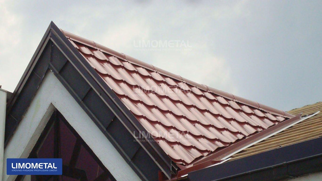kako izgleda lim na krovu
