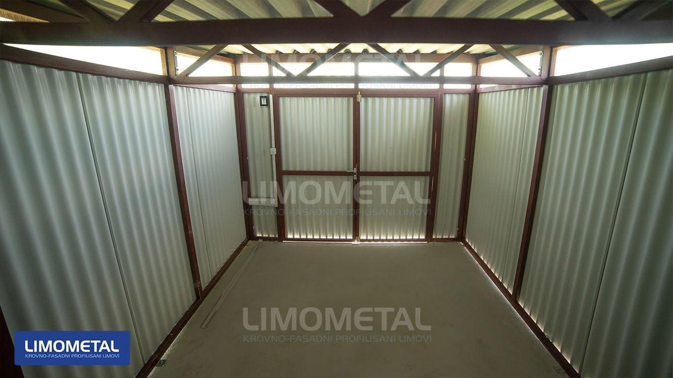 limena garaza za ostavu