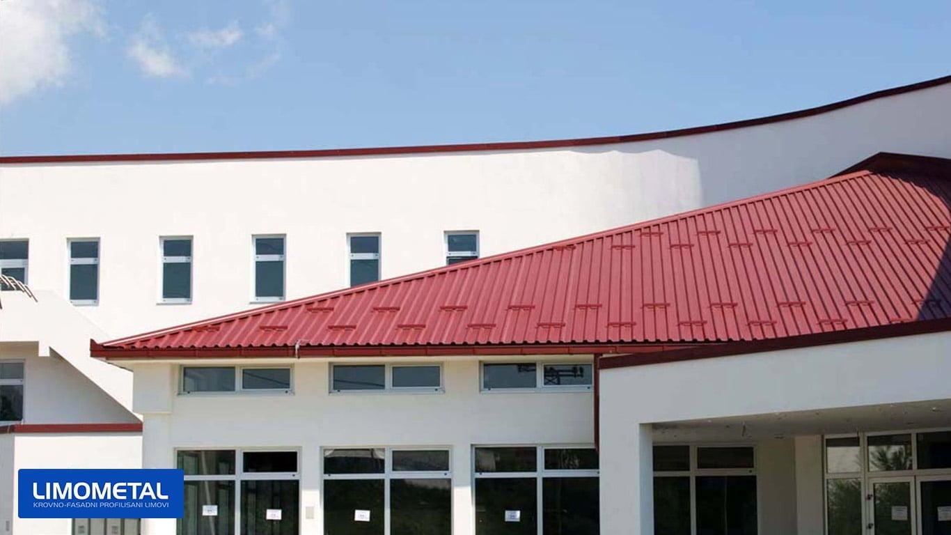 gimnazija cazin radovi krov