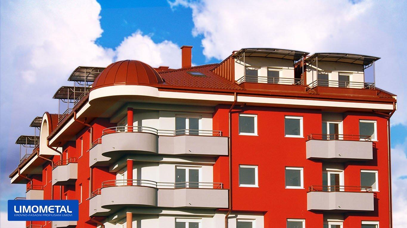 krovni i fasadni profilisani lim
